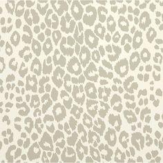 Schumacher Iconic Leopard Pattern Animal Print Wallpaper in Cloud Grey - Set Yards) Leopard Print Wallpaper, Linen Wallpaper, Cloud Wallpaper, Bathroom Wallpaper, Geometric Wallpaper, Wallpaper Roll, Pattern Wallpaper, Large Print Wallpaper, Leopard Prints