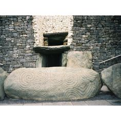 Newgrange Ireland - entrance to tomb - you have to duck!