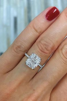 78 The Best Engagement Rings For Women In 2021 ❤ engagement rings for women diamond white gold radiant cut #weddingforward #wedding #bride Radiant Cut, Best Engagement Rings, White Gold, Diamond, Women, Women's, Diamonds