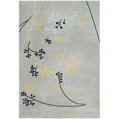 Safavieh Soho Piper Wool Area Rug, Grey, Gray
