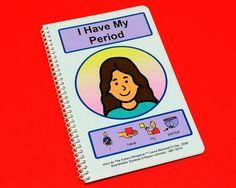 I Have My Period - PECS Autism Social Skills Story