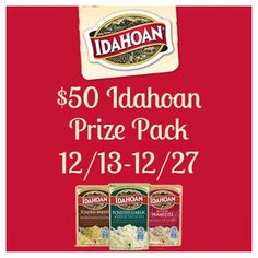 $50 Idahoan Prize Pack #Giveaway - About a million years ago, when the earth was young, a rather fortunate phenomenon occurred for potato lovers.