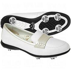Womens Golf Shoe: Ladies Callaway Moc Slip-On Golf Shoes | TGW.com
