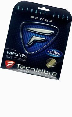 Technifibre NRG-2 SPL Tennis String Set by Technifibre. $12.50. 16, 17, 18 gauge, Natural, 40'