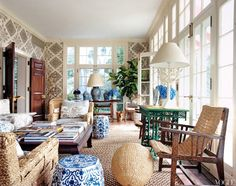LOVE AFFAIR: BLUE AND WHITE   CITRINELIVING