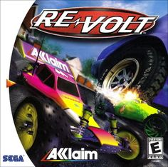 Title: Re-Volt Publisher: Acclaim Version: Dreamcast Year: 1999 Dream Cast, Rip It Up, Game Of The Day, Sega Dreamcast, Water Balloons, All Games, Vintage Games, Radio Control, Wii U