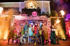 Festa tema Tomorrowland: personagens - Foto: Luiz Claudio Fotografia