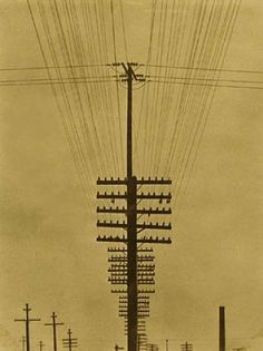 """Tina Modotti """"Telegraph Wires"""" c. 1925-1928.  I would use this to create a weave design drawing."""