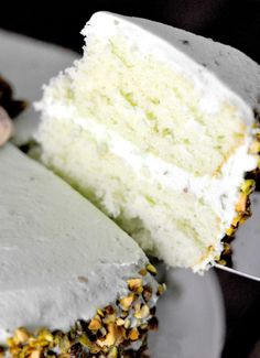 This easy pistachio cake is moist, easy, & delicious! It's the perfect spring dessert and is a tribute to my Aunt Lou! Get the recipe at www.MinisteringPrintables.com. Peanut Butter Cup Cookies, Instant Pudding Mix, Pistachio Cake, Spring Desserts, Round Cake Pans, Savoury Cake, Mini Cakes, Clean Eating Snacks, Aunt
