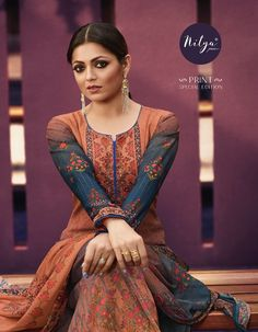 LT Fabrics Nitya Print Special Edition Digital Printed Georgette Sharara Suits at Wholesale Rate Palazzo With Kurti, Palazzo Suit, Salwar Suits Party Wear, Latest Salwar Kameez, Eid Outfits, Sharara Suit, Indian Fashion Dresses, Trendy Sarees, Suit Fabric