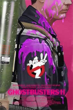 Rick Moranis Ghostbusters, Ghostbusters Game, Movie Poster Art, Film Posters, Teen Posters, Science Fiction, Pulp Fiction, Non Plus Ultra, Movie Posters
