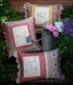 The Rivendale Collection by Sally Giblin. #TheRivendaleCollection stitchery, appliqué and patchwork patterns. www.therivendalecollection.com.au