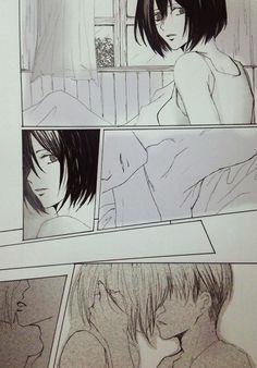 Levi Mikasa, Rivamika, Eremika, Akame Ga, Levi Ackerman, Attack On Titan, More Photos, Anime Manga, Kiss