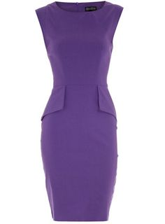I love the color and shape of this dress for interview possibly!