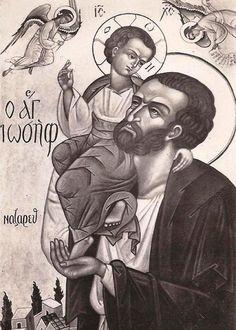 Icono bizantino en st Julien le pauvre, París.