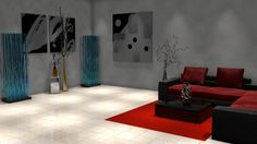 Indoor Spotlight Illumination For Daz3D by DecanAndersen.deviantart.com on @deviantART