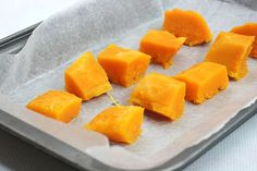 How to prepare butternut squash for freezing, three different ways.