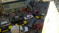 Typisches Chaos Alexandrias Straßen