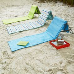Beachcomber Portable Beach Mats at Brookstone: How awesome are these?!