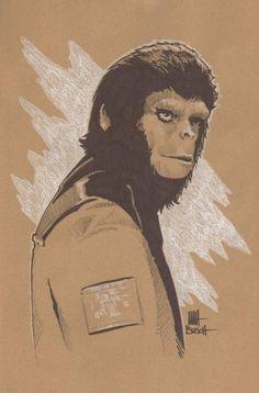 Planet of the Apes - Dr. Cornelius by Matt Busch * #Planetoftheapes #Cornelius