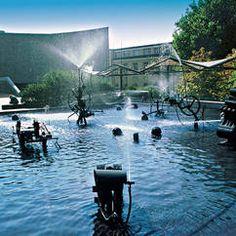Jean Tinguely  Tinguely Fountain, Basel