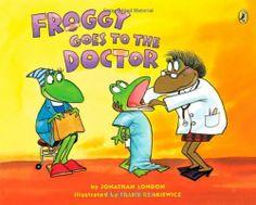 Froggy Goes to the Doctor von Jonathan London und weiteren, http://www.amazon.de/dp/0142401935/ref=cm_sw_r_pi_dp_BBqptb1F40NVF