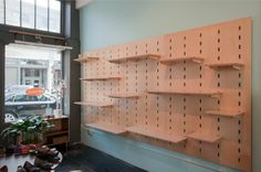 resoul shelving by Kerf