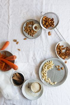 carrot cake horchata (& regular!) | two red bowls