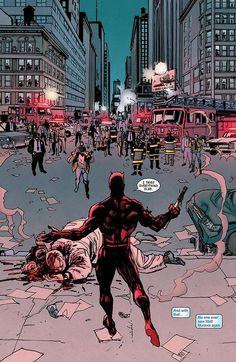 Daredevil vs Kingpin - he tried everything else.