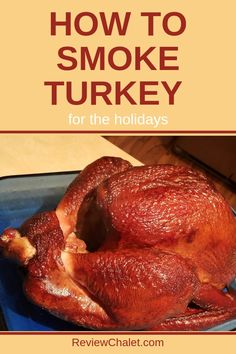 Learn how to make smoked turkey, so you can wow your guests with moister, great flavored and better tasting turkey this holiday season. Learn how to smoke a turkey. Your family will get to enjoy smoked turkey for the holidays. Pellet Grill Recipes, Grilling Recipes, Oven Recipes, Thanksgiving Recipes, Holiday Recipes, Thanksgiving 2020, Thanksgiving Appetizers, Smoked Whole Turkey, Smoked Meat Recipes