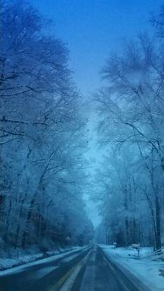Winter Morning, Felton DE