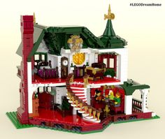 Victorian Dream Home on LEGO Ideas - Interior