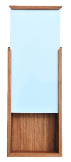 Nunabee Oblong Color Chip Box in Light Blue - EmilieChristensen