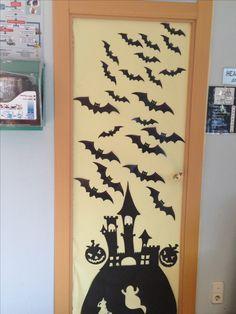 Una puerta para Halloween