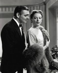 """Clark Gable and Deborah Kerr """"The Hucksters"""""""