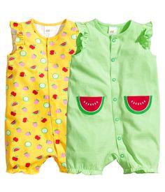 Set van 2 pyjama's € 12,99 | H&M BE