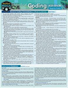 Medical Coding ICD-10-PCS (9781423236559) - BarCharts Publishing Inc makers of QuickStudy