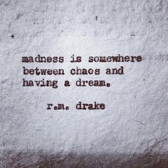 """R.M. Drake and whispers of the invisible place of REM (for those that don't """"sleep"""")!"""