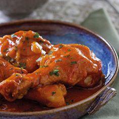 RECEITA THERMOMIX: Coxas de frango com molho e purê de batata