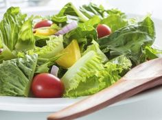 Photo about Healthy green salad white plate. Image of garnish, lunch, culinary - 34923777 Vegetable Salad, Fresh Vegetables, Lettuce, Cantaloupe, Healthy Recipes, Healthy Food, Diet, Fruit, Advice