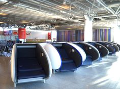Helsinki Airport Introduces GoSleep Nap Pods #Finland #iGottaTravel