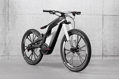 Wowza! I'm liking the forward thinking of German automakers - The Audi Electric Bike