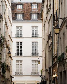 """Paris Photography, """"Rue St. Louis"""" Paris Print, Large Art Print Fine Art Photography"""