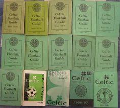 15 Celtic FC Handbooks 1975/76 to 2001/02 (See Details)