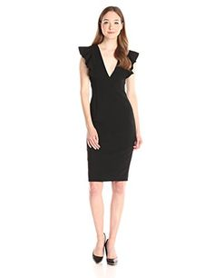 be09e9008867 Classy Black Halo Women s Deklyn Sheath Dress Dress measures 43 inch Dry  clean with care Classy