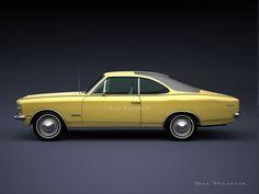 A Garagem Digital de Dan Palatnik   The Digital Garage Project: 1978 Chevrolet Opala