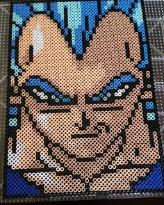 Dragon Ball perler beads by darkskyva