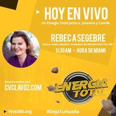 Hoy estaré compartiendo los detalles de la campaña #DejaTuHuella con mis amigos Johanna y Camilo por @cvclavoz