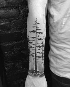 Forest Tattoo by mnsantanatattoo