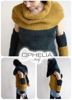 Ophelia Italy Idea interessante e simile a maglioni Benetton che ho visto da una mia amica!! Da fare assolutamente!